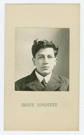 Mug shot of Harry Horowitz