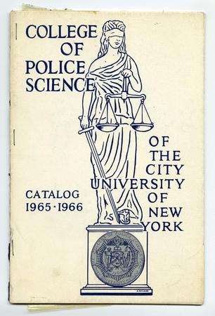 College of Police Science: Catalog 1965-1966