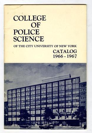 John Jay College history: 1964