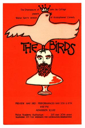 The Dramateurs of John Jay College Present: The Birds