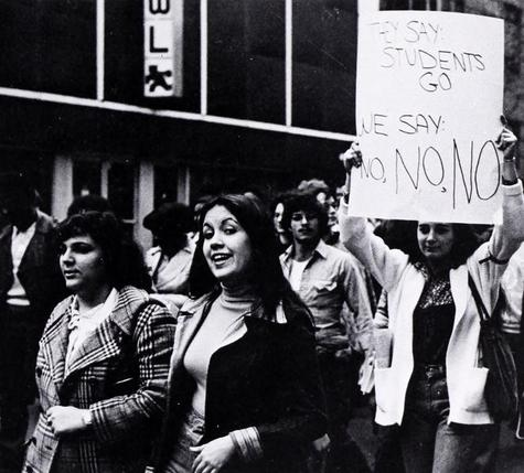 1976 protest sign