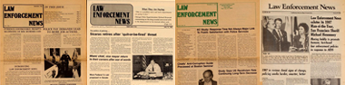 Cover of Law Enforcement News