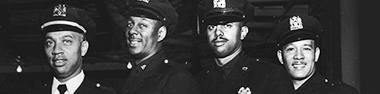Four NYPD officers